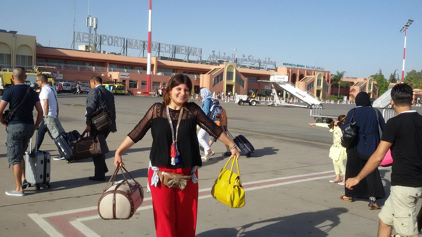 Danyaontour sletela na Menara aerodrom u Marakesu