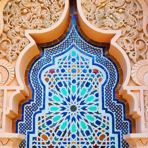 Marokanski mozaik arhitektura dekor