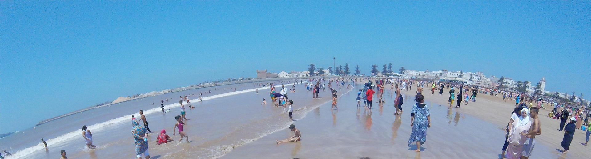 Plaža u Esauiri - Gradu vetrova na Atlantskom okeanu