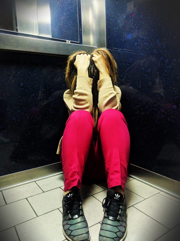 Klaustrofobija u liftu