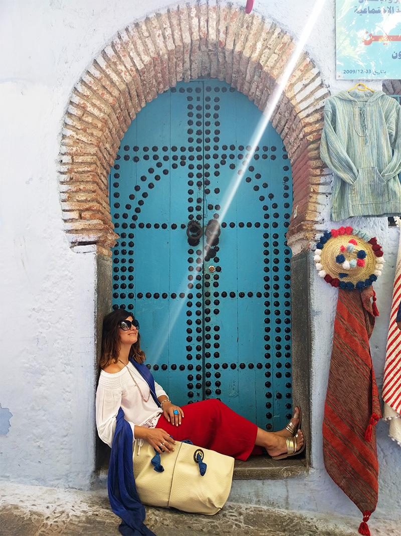 Šefšauen plavi grad predah u medini