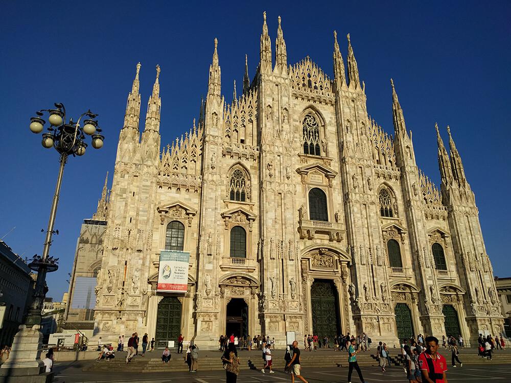 Slika milanske katedrale Duomo