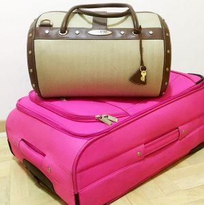 Fotografija kofera i ručnog prtljaga