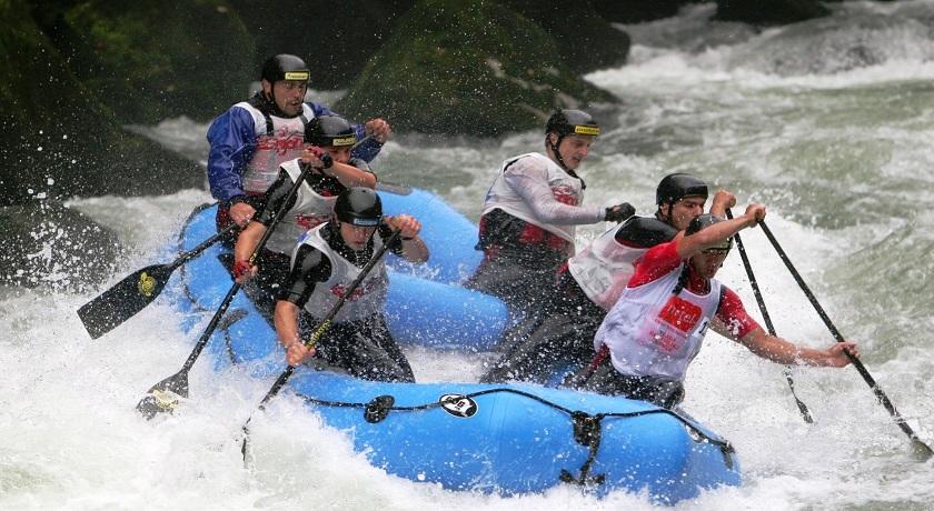 Rafting na reci Vrbas