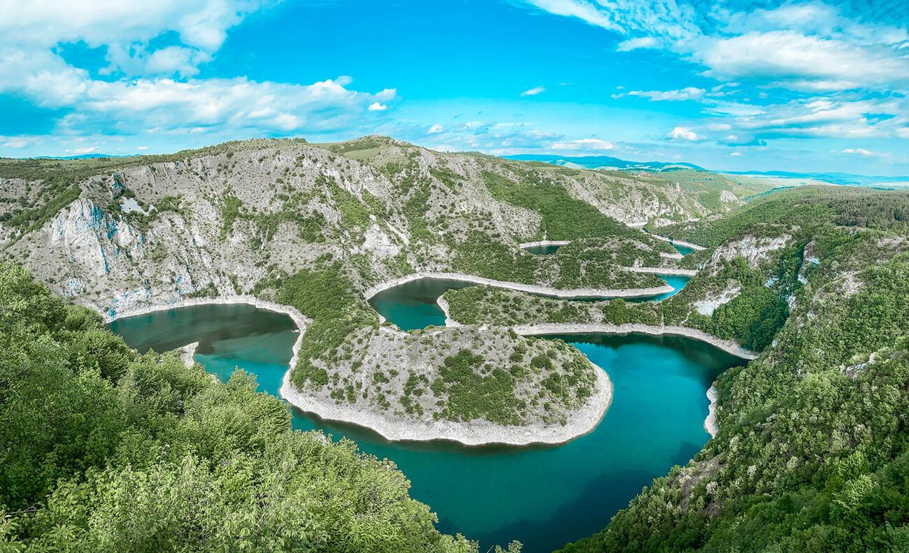 Reka Uvac i meandri